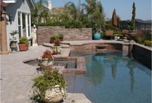 Pools / Pools we have designed and instaled for people. To learn more visit us at http://designyouryard.net/  / by ALS Landscaping