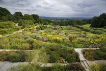 Yorkshire gardens / Designed gardens in Yorkshire.
