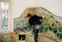 Mosaics in the bathroom