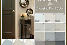 Exterior wall colours