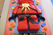 Legotorten / Lego cakes
