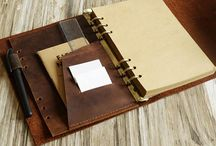 Sketchbook / Leather Journal, Travel journal with pockets, Leather sketchbook, Watercolor sketchbook