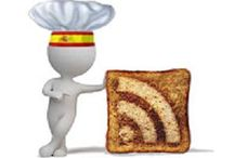 Social Network / Your Spanish Recipes on Internet. Follow me!