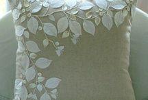 kwiaty ze wstążki i innych ...