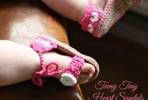 free baby sandal patterns