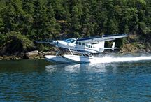 The Cessna 208 Caravan / Seair Seaplanes is the world's largest seaplane operator of float equipped Cessna Caravans. This technically advanced aircraft has a modern interior that comprises a three screen, Garmin G1000 glass cockpit integrated avionics system. This arrangement, which includes a Traffic Information System, Terrain Awareness System and Synthetic Vision, combined with audio and visual cues to the pilot, replaces the old analog round flight instruments.
