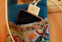 Ideias para a casa, sacola para carregar mobil
