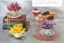 Tea Cup Floral Designs
