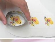 Wafer paper cookies