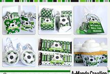 Soccer Party / Party ideas for the end of the season for your soccer team, or a soccer themed birthday party for your little one who just loves the sport.  Decorations, cakes, cupcakes, printables and more to make it an awesome soccer party.
