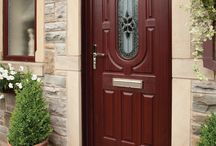 Front Door Ideas | Rockdoor / Looking for strength and security? Then you've found what you're looking for with our Rockdoor composite doors! Front Door Ideas | Front Door Colours | Composite Doors