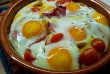 recetas de huevos