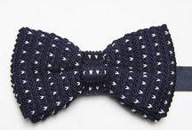 DAS005 / Fashion inspiration for our knitted navy bow tie: http://www.mightygoodman.nl/nl/english-fashion-gebreide-bow-tie-blauw.html