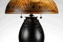 Jugendstil lamps