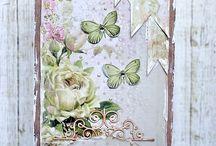 přáníčka - motýlci
