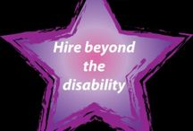 Disability Employment / Job tips, inspiration and  coming together as a community in support of #disabilityemployment