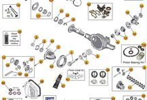 Jeep YJ Parts Diagrams / by Morris4x4Center.com