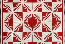 Red and White Quilts / by Red Pepper Quilts