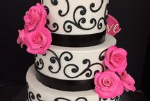 V&W Wedding Cakes & Toppers / upscale wedding cake designs & decorated top pieces
