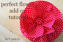 Flowers and Bows, & Hair Accessories / Many tutorials and patterns ands a few of my items ready to ship here:  http://www.etsy.com/shop/DonnaDesigned?section_id=12245254