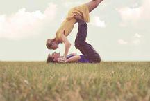 Acrobat couple