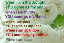 YOU are my rain