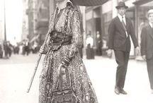 clothing / moda dal 1900 agli anni 30