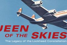"""Queen of the Skies / """"Queen of the Skies: The Legacy of the Lockheed Constellation"""" is an exhibition of the legacy of this magnificent airplane through a selection of airline uniforms, models, promotional objects, inflight equipment, and passenger service items. """"Queen of the Skies: The Legacy of the Lockheed Constellation"""" is on display in the Aviation Museum and Library in the International Terminal  at SFO. The Aviation Museum and Library is open from 10am - 4:30pm Sunday through Friday."""