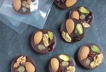 confiseries au chocolat et autre