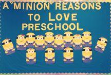Preschool bulletin boards!  / by Abigail Kayman