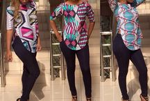African blouse/top