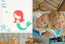 Mermaid Party Ideas / Party ideas for a mermaid themed birthday party!
