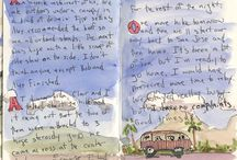 Starting a Travel Journal / Inspiration and Ideas for starting your own Travel Journal