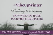#VibeUpWinter / We need team work and accountability to keep our vibes high this winter. Let's inspire each other and keep the good energy flowing. What are you doing this winter to raise your vibration? #VibeUpWinter #LawofAttraction #LOA