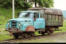 Railcars / Railroadtrucks
