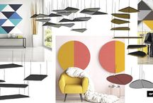 Azores Absorber / Azores panels allow you to freely combine, layer and hang them to create unlimited, unique layouts. Each design is tailor-made, to create your perfect visual and acoustic ambience. 7 different shapes in 31 stunning colours - the tools to unleash your inner creativity. http://ow.ly/S8vi306TNm8