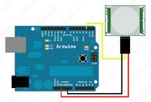 PIR датчик движения подключение к Arduino