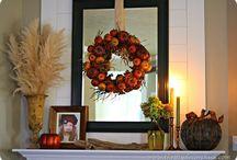 Fall / autumn decor
