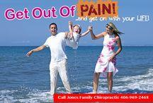 Spencer Jones Chiropractic / Chiropractor Billings MT-406-969-2468 http://www.jonesfamilychiropracticmt.com/