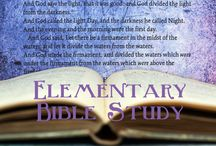Elementary Bible Study / bible study for elementary
