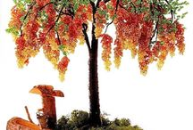 beads tree