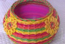 цветное плетение