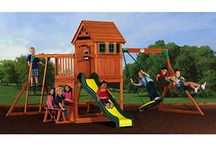Outdoor playsets / by Michelle Tate