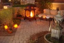 Light/fire outdoors