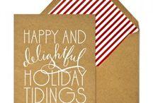 Kort / Julekort, postkort og andre kort