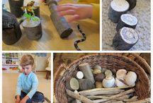 Lekmaterial och pedagogiska leksaker (toys and materials)