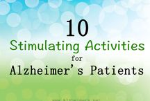 Dementia Activities / Activities to help dementia and Alzheimer patients. How to bring back  memories and games for them to stimulate them.
