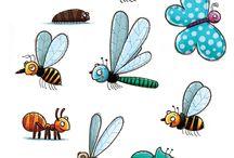 kriebelbeestjes/ insecten