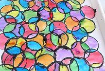 Semaine de la Créativité / Voici quelques procédés artistiques pour vous inspirer pour vos oeuvres!
