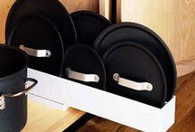 kuchyně úložné prostory